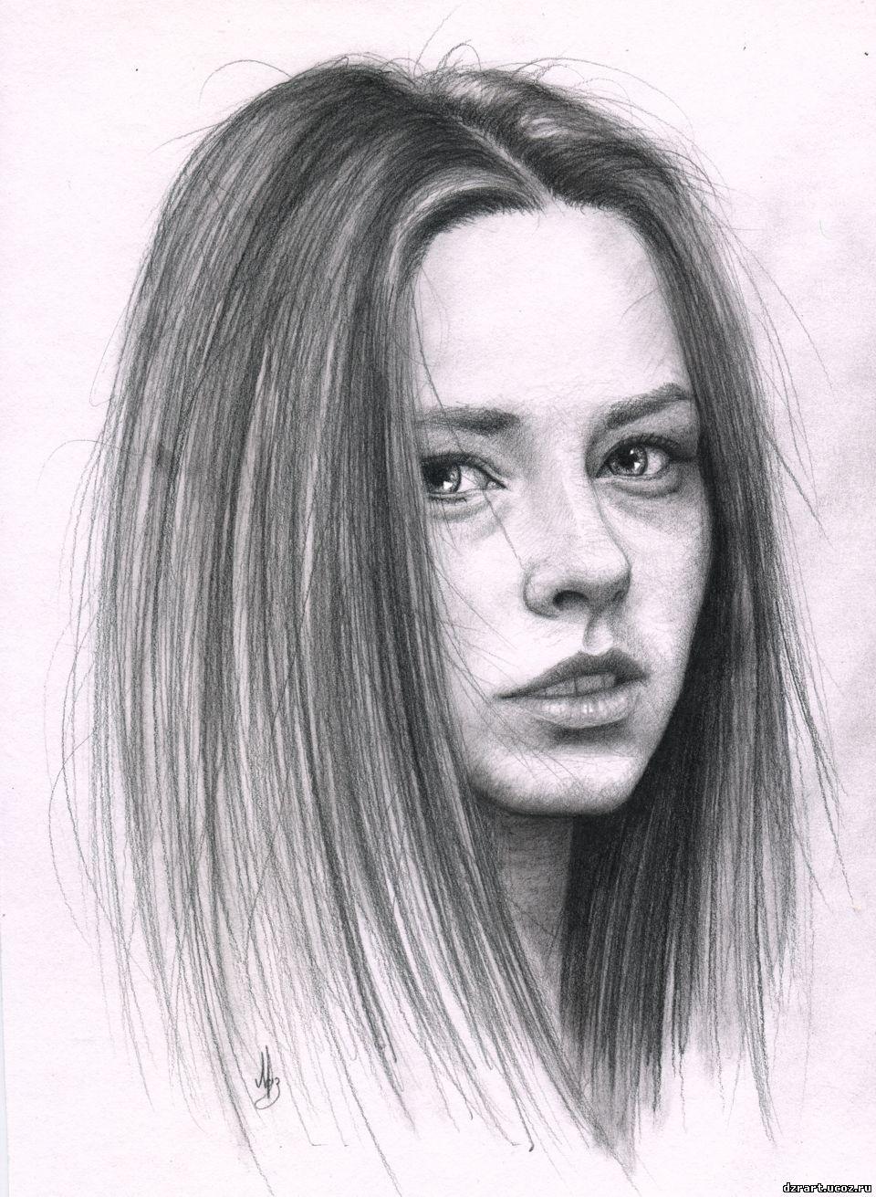 фото карандашом портреты